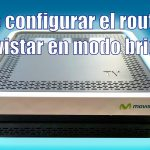 Configurar el HGU Movistar en modo Bridge