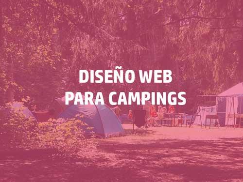 Diseño web para camping