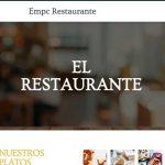 Lo importante de tener una web de tu restaurante
